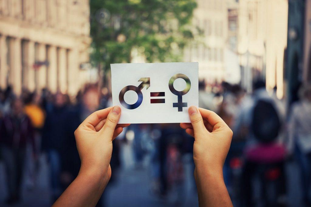 女性と男性のマーク